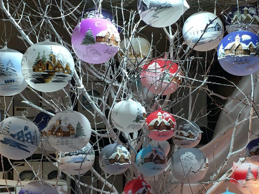 Christmas decorative glass balls