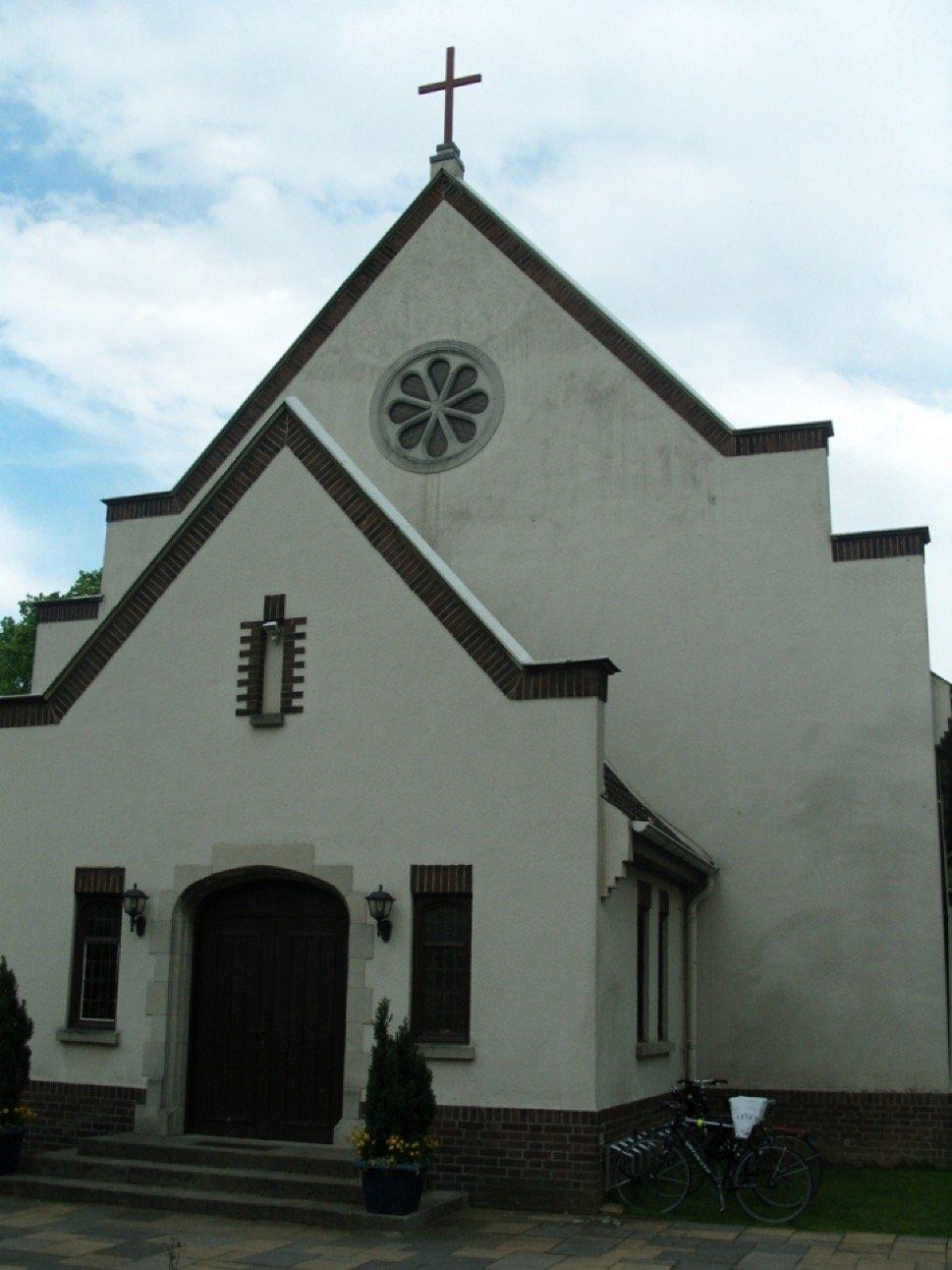 Gable of church building