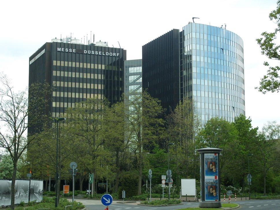 Modern administrative buildings