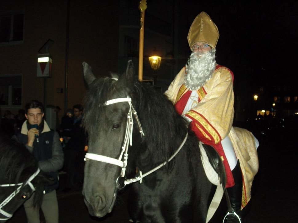 St Martin on a horse