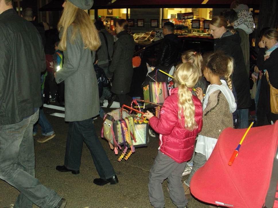 Lanterns and children
