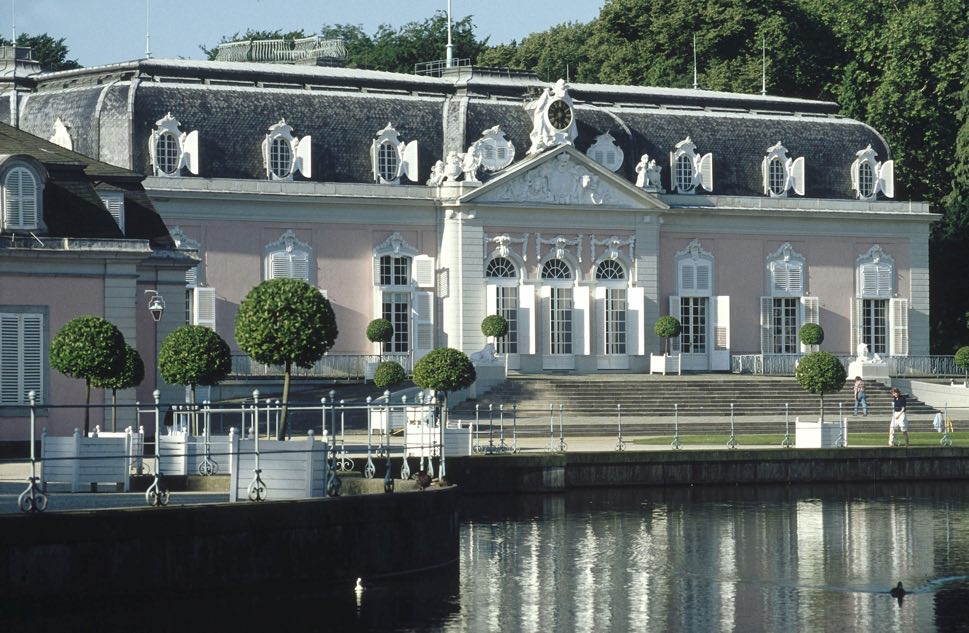 Baroque palace frontage